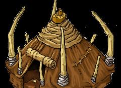 tente de chasseur, Akhiris-Online, Pixel Artiste : AmyneL-OlivierL37